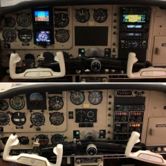 Dual G5, GFC 500 and radio package upgrade